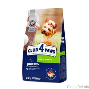 CLUB 4 PAWS PREMIUM Adult Small Breeds 14kg