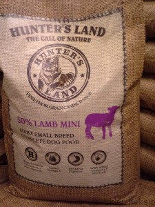 HUNTER'S LAND MINI Grain Free 50% Lamb 12kg