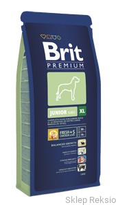 BRIT Premium BY NATURE XL Junior 15kg