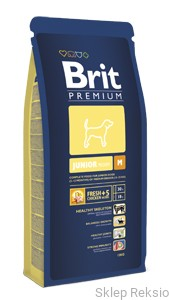 Brit Premium BY NATURE M Junior 15kg