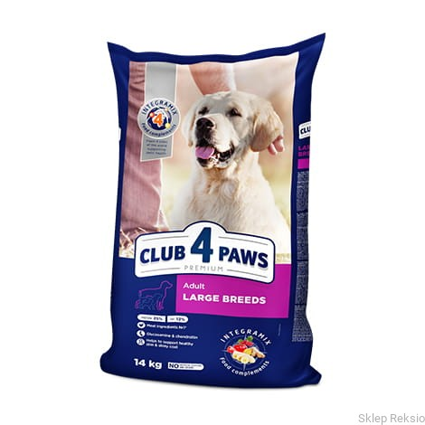 CLUB 4 PAWS Adult Large Breeds 20kg